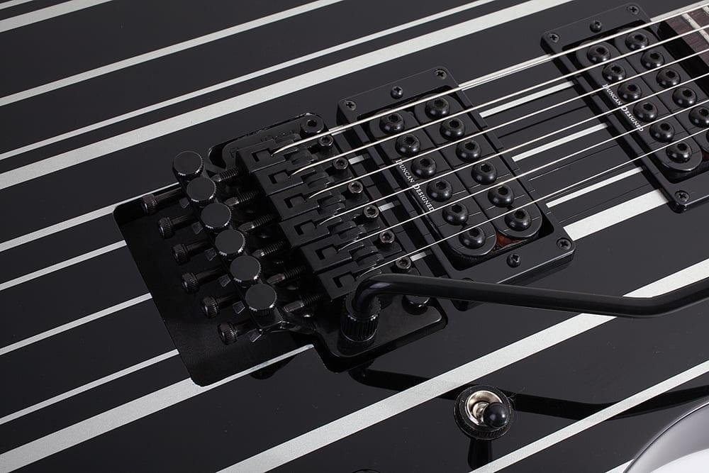 Schecter Synyster Standard BLK/SILV-17495