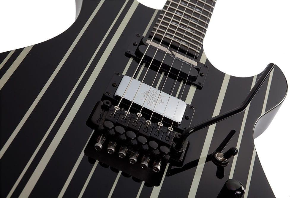 Schecter Synyster Custom-S BLK/SILV-17470