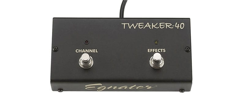 product e g egnater tweaker 40 footswitch