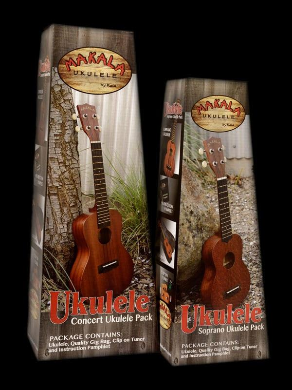 חבילת יוקולילי כולל נרתיק וטיונר Makala MK-C/PACK-3603