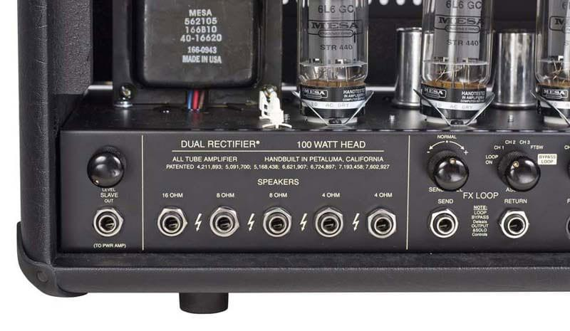 product m e mesa boogie dual rectifier speaker outputs