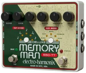Electro-Harmonix Deluxe Memory Man w/Tap Tempo 550-0