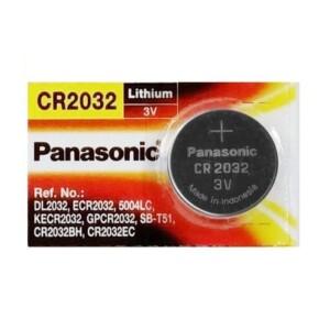 """Panasonic CR2032 סוללה """"מטבע""""-0"""