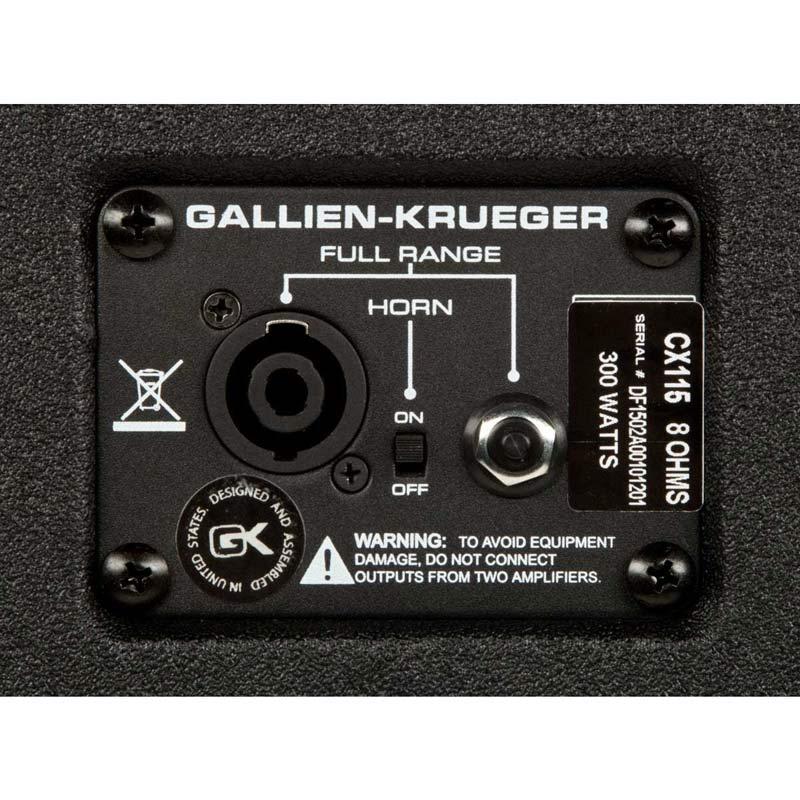 Gallien Krueger CX115-5550