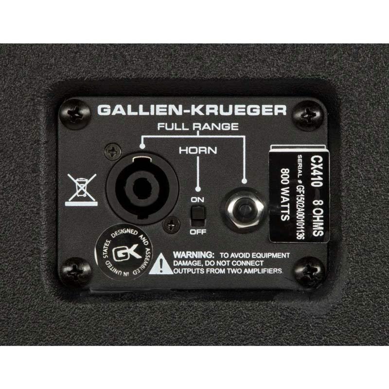 Gallien Krueger CX410-5556