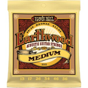 Ernie Ball 2002 Earthwood 80/20 Acoustic 13-56-0