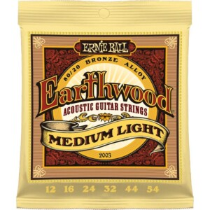 Ernie Ball 2003 Earthwood 80/20 Acoustic 12-54-0