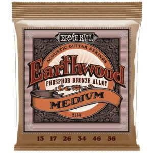 Ernie Ball 2144 Earthwood Phosphor Bronze Acoustic 13-56-0