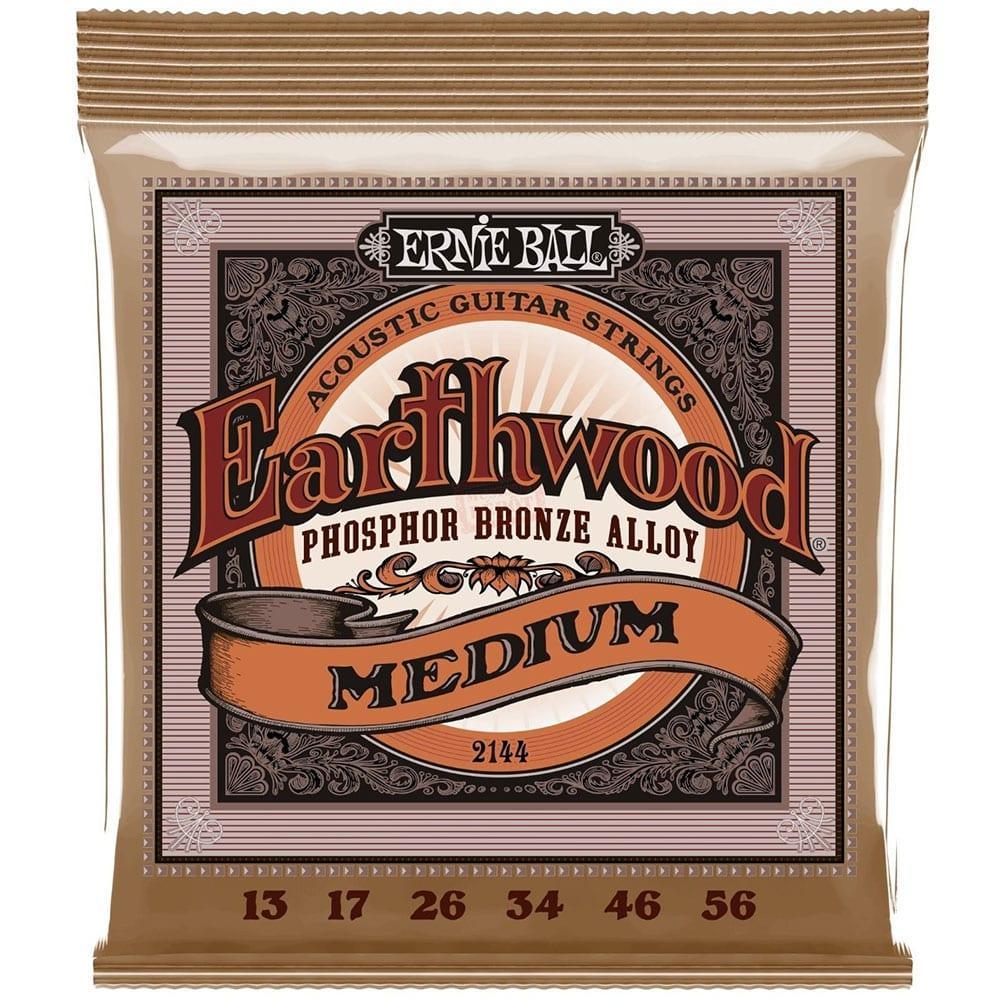 Ernie Ball 2144 Earthwood Phosphor Bronze Acoustic 13-56-0