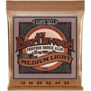 Ernie Ball 2146 Earthwood Phosphor Bronze Acoustic 12-54-0