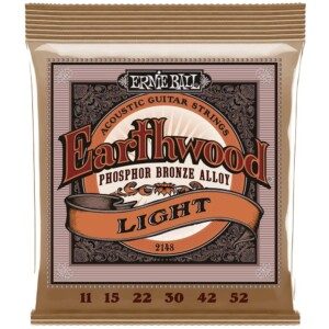 Ernie Ball 2148 Earthwood Phosphor Bronze Acoustic 11-52-0