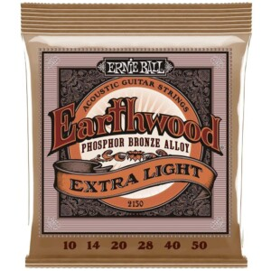 Ernie Ball 2150 Earthwood Phosphor Bronze Acoustic 10-50-0
