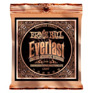 Ernie Ball 2548 Everlast Coated Phosphor Bronze Acoustic 11-52-0