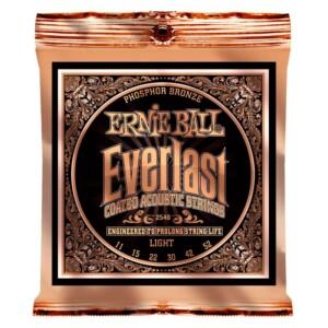 Ernie Ball 2548 Everlast Coated Phosphor Bronze Acoustic 11-52-0
