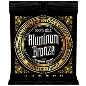 Ernie Ball 2566 Aluminum Bronze Acoustic 12-54-0