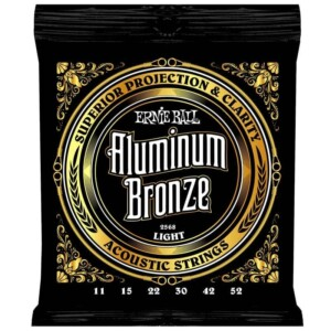 Ernie Ball 2568 Aluminum Bronze Acoustic 11-52-0