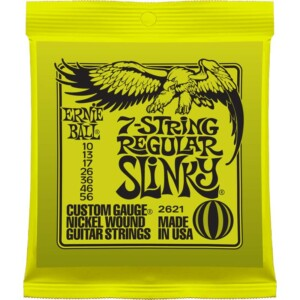 Ernie Ball 2621 7-String Regular Slinky Electric 10-56-0