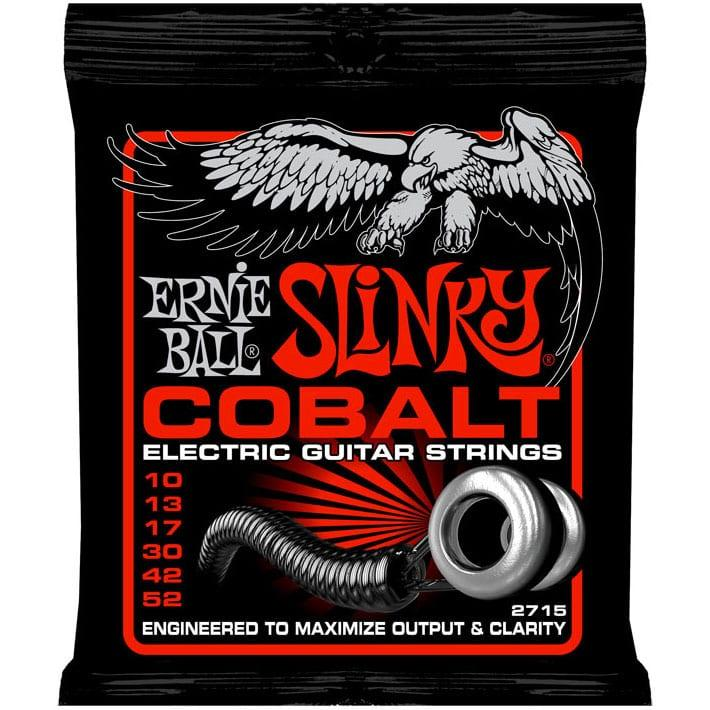 Ernie Ball 2715 Cobalt Skinny Top Heavy Bottom Electric 10-52-0