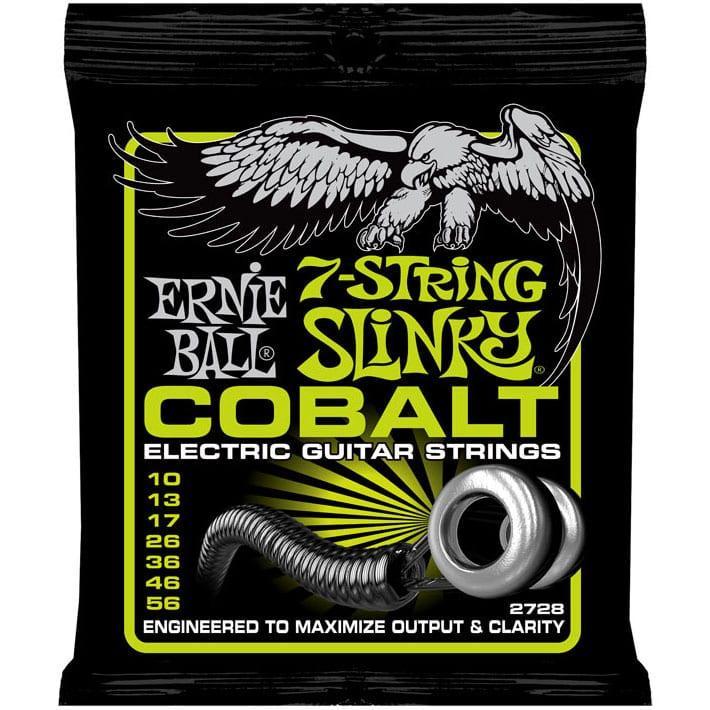 Ernie Ball 2728 Cobalt 7-String Regular Slinky Electric 10-56-0