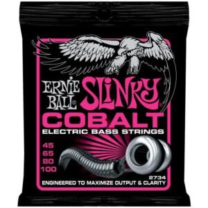 Ernie Ball 2734 Cobalt Super Slinky Bass 45-100-0
