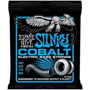 Ernie Ball 2735 Cobalt Extra Slinky Bass 40-95-0