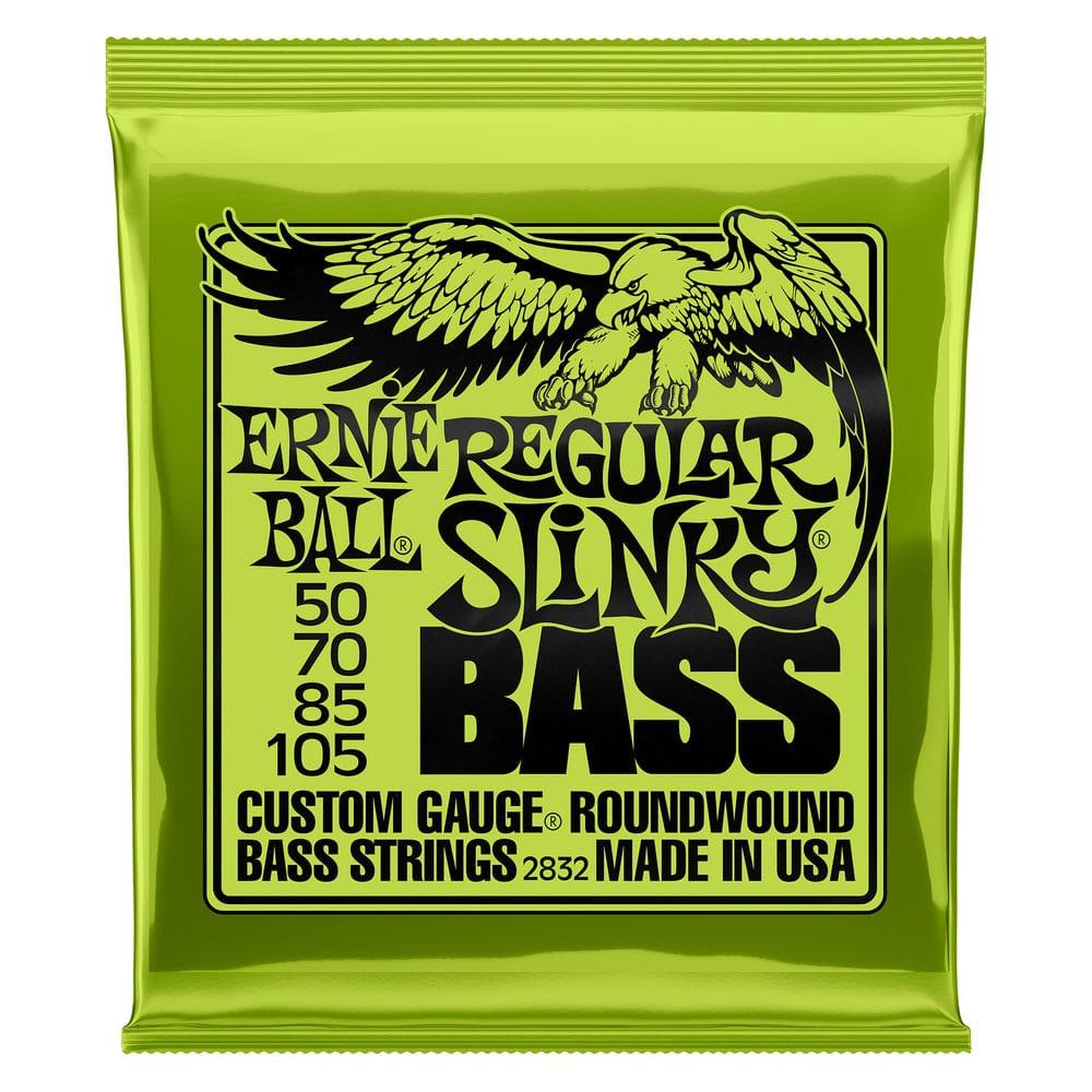 Ernie Ball 2832 Regular Slinky Nickel Wound Bass 50-105-0