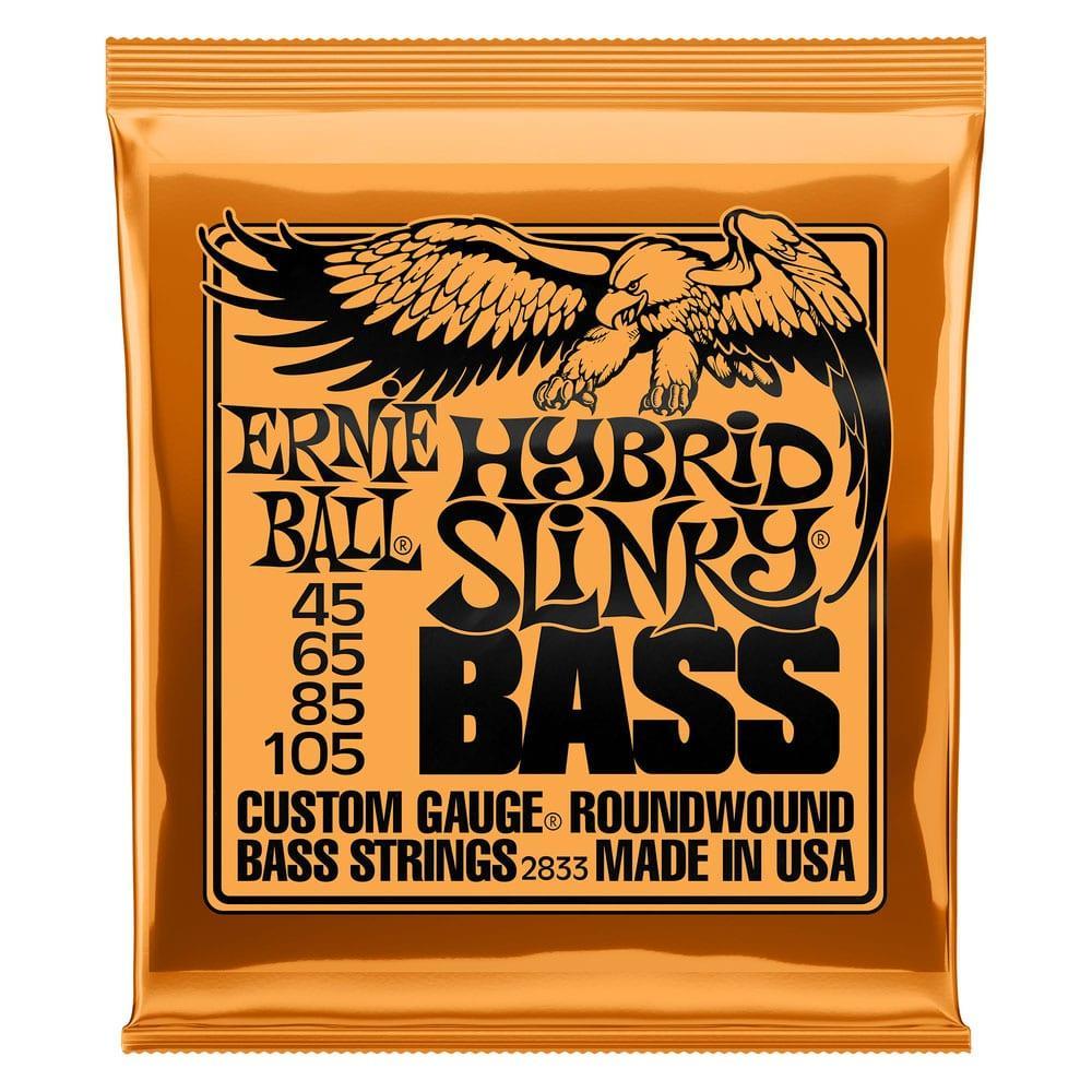 Ernie Ball 2833 Hybrid Slinky Nickel Wound Bass 45-105-0