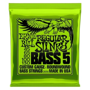 Ernie Ball 2836 Regular Slinky Nickel Wound 5-String Bass 45-130-0