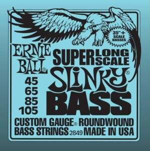 Ernie Ball 2849 Slinky Nickel Wound Super Long Scale Bass 45-105-0