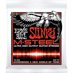 Ernie Ball 2915 M-Steel Skinny Top Heavy Bottom Electric 10-52-0