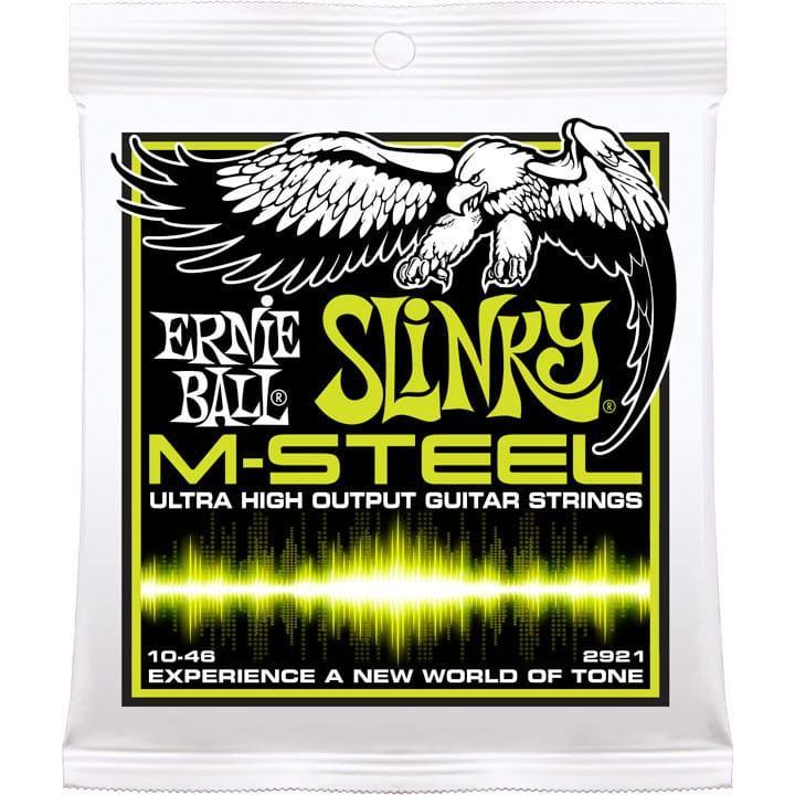 Ernie Ball 2921 M-Steel Regular Slinky Electric 10-46-0