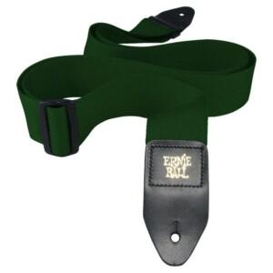 רצועה ירוק יער Ernie Ball Polypro-0