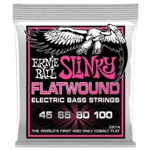 Ernie Ball 2814 Super Slinky Flatwound Bass 45-100-0