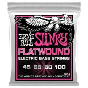 Ernie Ball 2814 Super Slinky Flatwound Bass 45-100-0