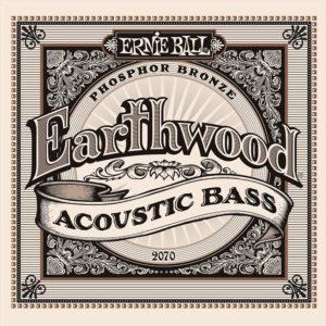 Ernie Ball 2070 Earthwood Acoustic Bass 45-95-0