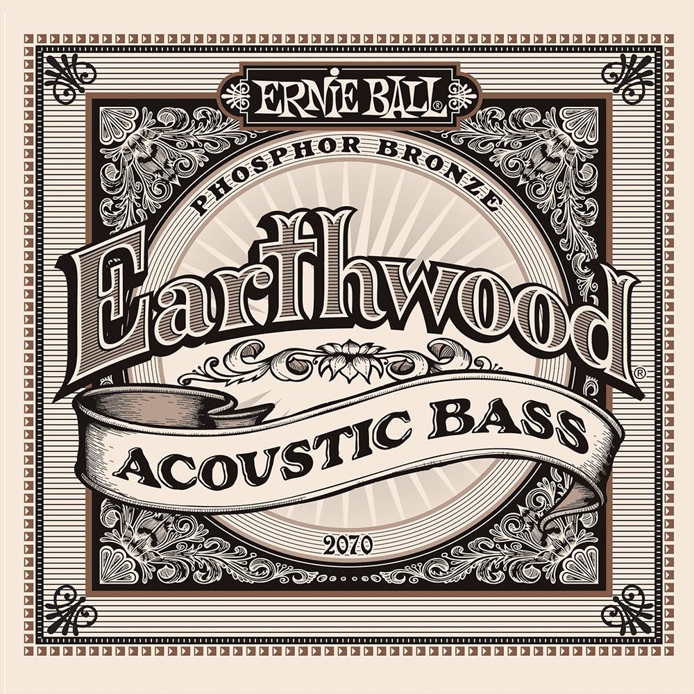 Ernie Ball 2070 Earthwood Acoustic Bass 45-95-0