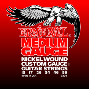 Ernie Ball 2204 Medium Nickel w/Wound G 13-56-0