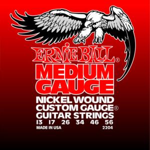 Ernie Ball 2204 Medium Nickel w/Wound G 13-56-0