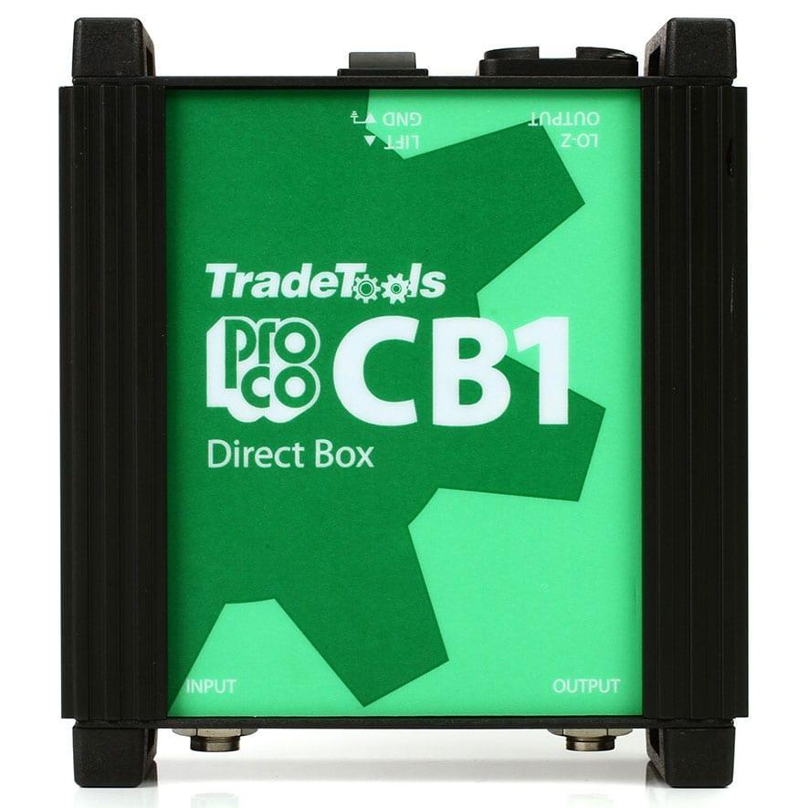 Pro Co CB1 Passive Direct Box-0