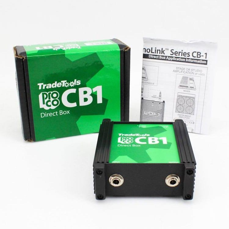 Pro Co CB1 Passive Direct Box-7500