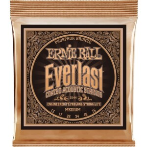 Ernie Ball 2544 Everlast Coated Phosphor Bronze Acoustic 13-56-0