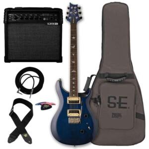 חבילה גיטרה חשמלית ומגבר PRS SE Standard 24