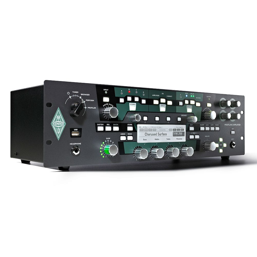 Kemper Profiler Rack + Remote Bundle-11501