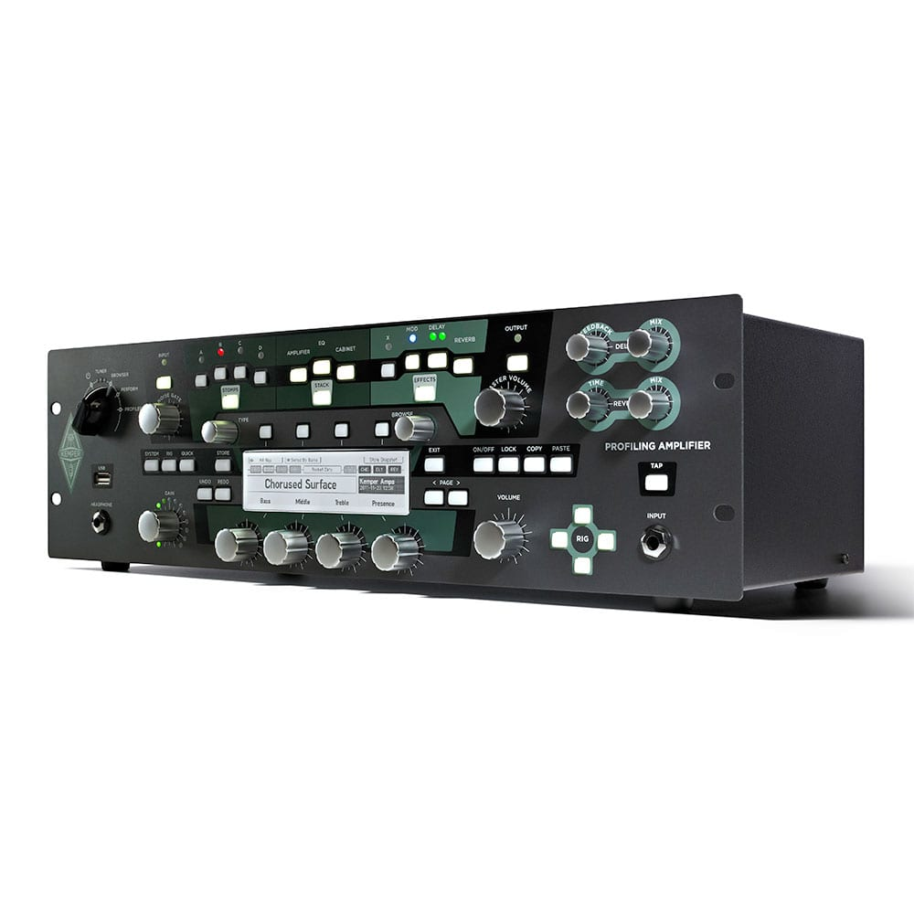 Kemper Profiler Rack + Remote Bundle-11499