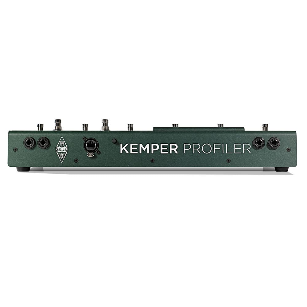 Kemper Profiler Head (White) + Remote Bundle-11474