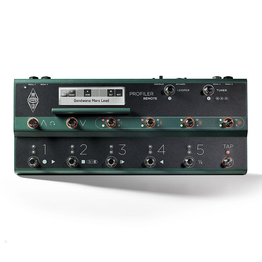 Kemper Profiler Head (White) + Remote Bundle-11473