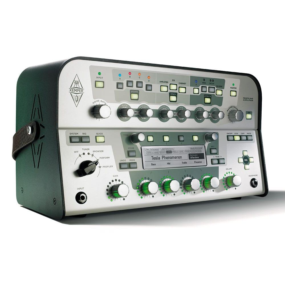 Kemper Profiler Head (White) + Remote Bundle-11468