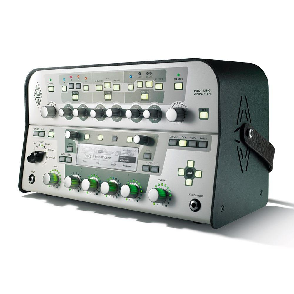 Kemper Profiler Head (White) + Remote Bundle-11470