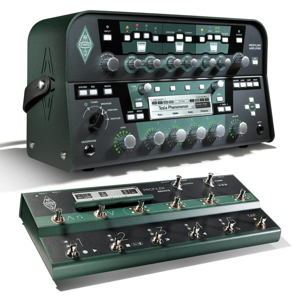 Kemper Profiler Head (Black) + Remote Bundle-0