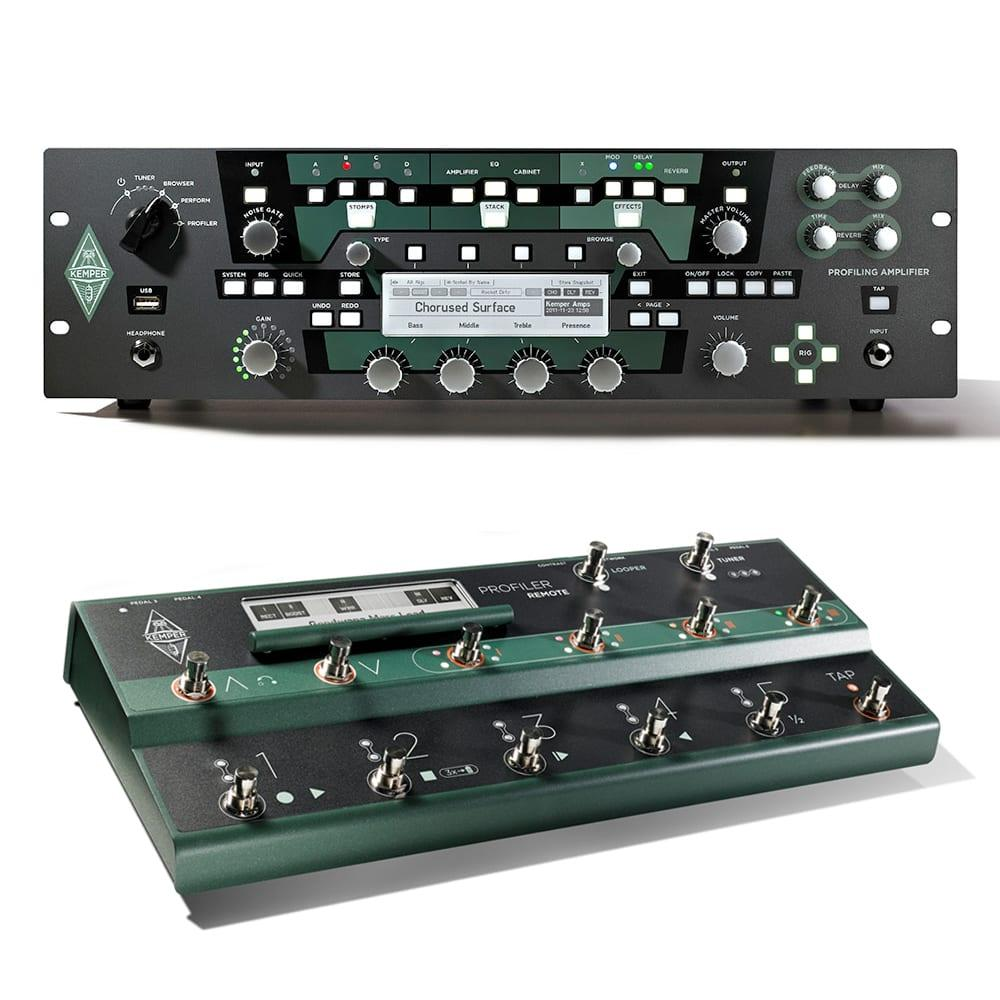 Kemper Profiler Rack + Remote Bundle-0